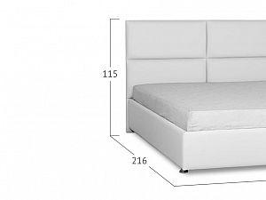 Кровать Moon Trade Риальто Модель 582 Марципан с подъемным механизмом