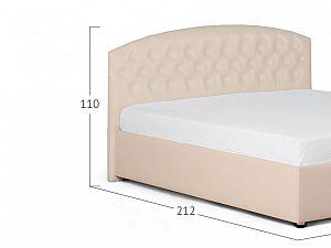 Кровать Moon Trade Пальмира Модель 380 Суфле с основанием