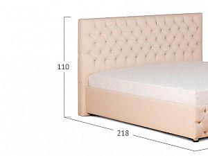 Кровать Moon Trade Купол Тысячелетия Модель 385 Рожь с основанием