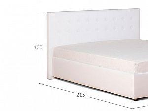 Кровать Moon Trade Космопорт Модель 382 Марципан с основанием
