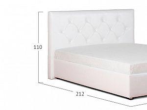 Кровать Moon Trade Монблан Модель 383 Марципан с основанием