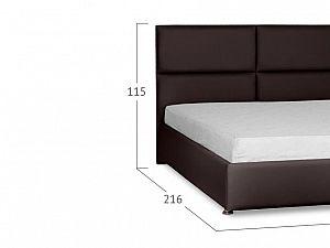 Кровать Moon Trade Риальто Модель 582 Пралине с основанием