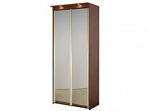 Шкаф-купе Элит 2х дверный с 2 зеркальными дверями