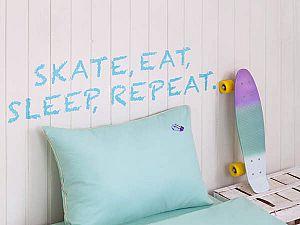 Детское постельное белье Luxberry Skateboys, простыня на резинке