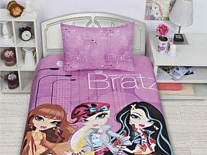 Постельное белье Disney Bratz pink