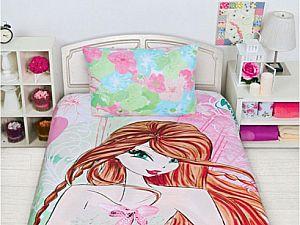 Постельное белье Disney Winx Fashion Flora 2014
