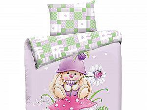 Детское постельное белье Mona Liza Зайка-гном