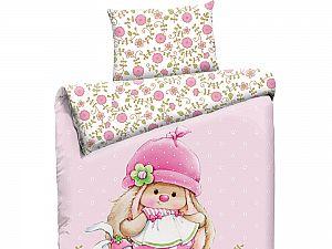 Детское постельное белье Mona Liza Зайка на поляне