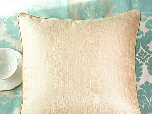 Декоративная подушка Asabella D8-2, золотисто-бежевая