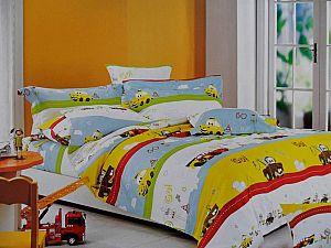 Детское постельное белье Адель Тачки