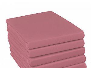 Простыня на резинке Fussenegger, арт. 2795, темно-розовая