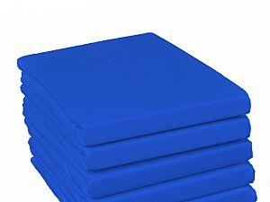 Простыня на резинке Fussenegger, арт. 4024, синяя