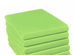 Простыня на резинке Fussenegger, арт. 5008, светло-зеленая