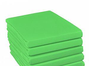 Простыня на резинке Fussenegger, арт. 5011, светло-зеленая