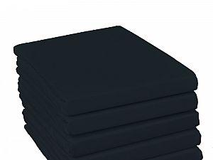 Простыня на резинке Fussenegger, арт. 7002, черная