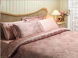 Постельное белье Tivolyo Crista, розовый