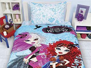 Постельное белье Disney Bratzillaz Witches Blue