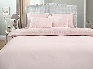Постельное белье Gelin Home Narin, темно-розовый