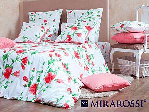 Постельное белье Mirarossi Francesca red