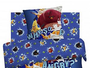 Постельное белье Angry Birds, Злые птички