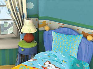 Постельное белье в детскую кроватку Малыш Непоседа