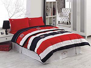 Постельное белье US Polo Chesterland с одеялом-покрывалом