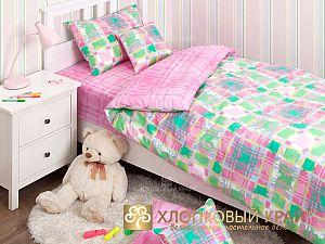 Постельное белье Хлопковый край Geometry pink