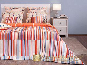 Постельное белье Хлопковый край Кембридж, оранжевый
