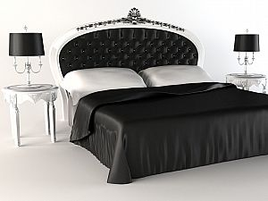 Постельное белье Luxe Dream Black and White