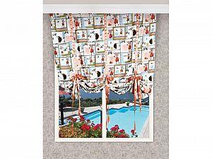 Французская штора Зайкины друзья Apolena, арт. 08-9016/B