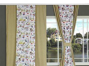 Штора Ресторан Голубая лагуна Apolena, арт. 08-9167/D