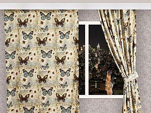 Штора Полет бабочки Apolena, арт. 08-9455/1