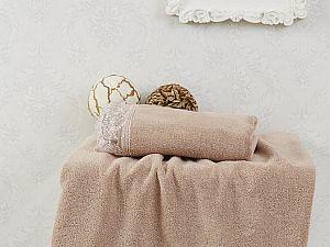 Набор из 2-х полотенец Sofi De Marko Estina, коричневый