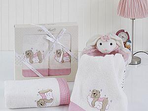 Комплект полотенец BOMBINO (св.роз)