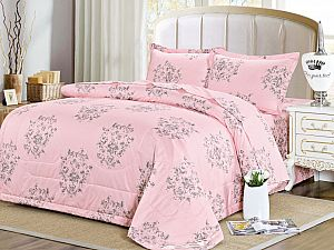 Постельное белье с одеялом Sofi De Marko Квест, персиковый