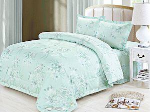 Постельное белье с одеялом Sofi De Marko Эннис, светло-зеленый