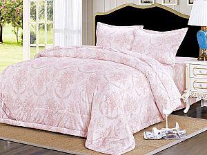 Постельное белье с одеялом Sofi De Marko Алика, пепельно-розовый