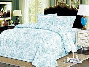 Постельное белье с одеялом Sofi De Marko Алика, голубой