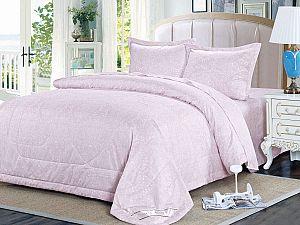 Постельное белье с одеялом Sofi De Marko Султан, пепельно-розовый
