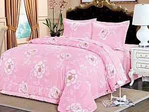 Постельное белье с одеялом Sofi De Marko Циния, розовый