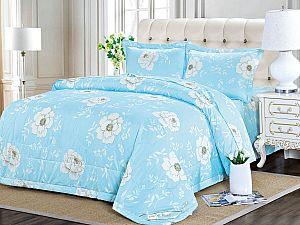 Постельное белье с одеялом Sofi De Marko Циния, голубой