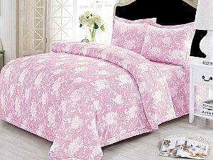 Постельное белье с одеялом Sofi De Marko Фронда, розовый