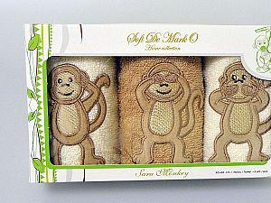 Набор из 3-х детских салфеток Sofi De Marko Mongo 30х50 см