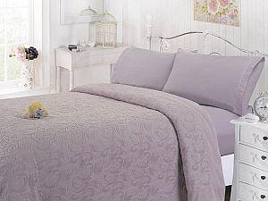 Комплект с покрывалом Sofi De Marko Полермо, лиловый