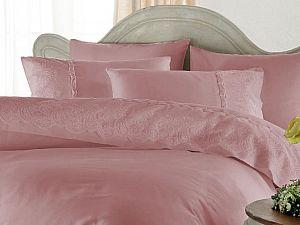 Постельное белье Gelin Home Charlotte, темно-розовый