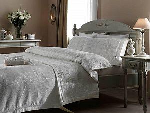 Постельное белье Gelin Home с покрывалом, Gelin темно-розовый