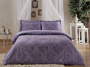 Жаккардовое постельное белье Tivolio Princess, лиловое