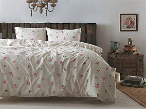 Постельное белье Tivolyo Dora, розовый