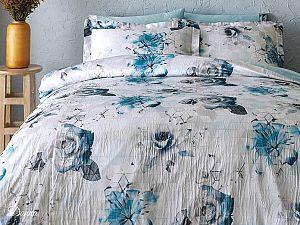 Постельное белье Tivolyo Donna, синий