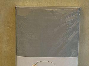 Наволочки Tivolyo Pamuksaten 50х70 см, серые